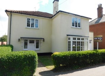 Thumbnail 4 bed detached house for sale in Bury Road, Stowmarket