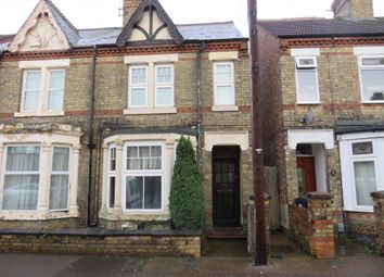 Thumbnail 3 bed terraced house for sale in Gilpin Street, Peterborough