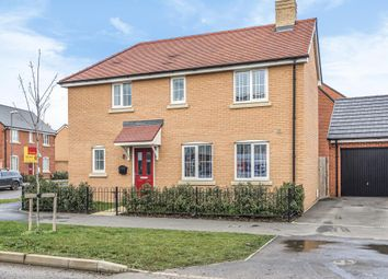 Thumbnail 3 bed detached house for sale in Berryfields, Aylesbury, Buckinghamshire