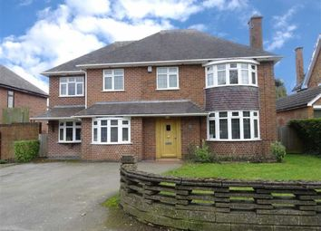 Thumbnail 4 bedroom detached house for sale in Leicester Road, Hinckley