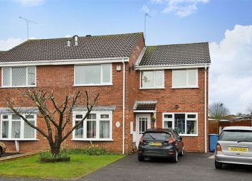 Thumbnail 4 bed semi-detached house for sale in Livingstone Avenue, Perton, Wolverhampton