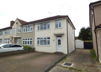 Thumbnail 3 bed end terrace house for sale in Northwood Avenue, Hornchurch