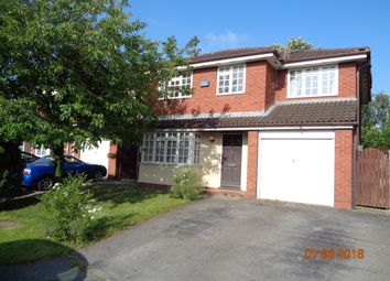 Thumbnail 4 bed detached house to rent in Coppice Green, Warrington