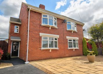 Thumbnail 3 bed semi-detached house for sale in Wensleydale Avenue, Penshaw, Houghton Le Spring