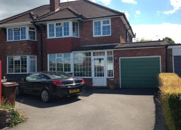 Thumbnail 3 bedroom semi-detached house to rent in Marlborough Avenue, Stafford