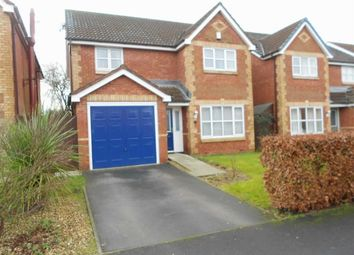 Thumbnail 4 bed detached house for sale in Langley Drive, Crewe, Cheshire