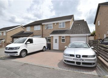 Thumbnail 3 bed semi-detached house for sale in Shergar Close, Abbeydale, Gloucester