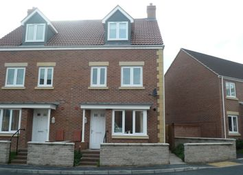 Thumbnail 4 bed town house for sale in Green Crescent, Frampton Cotterell, Bristol, Gloucestershire