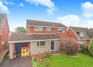 Thumbnail 4 bed detached house to rent in Buckingham Close, Exmouth