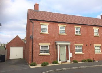 Thumbnail 3 bed semi-detached house for sale in Willowherb Way, Stotfold