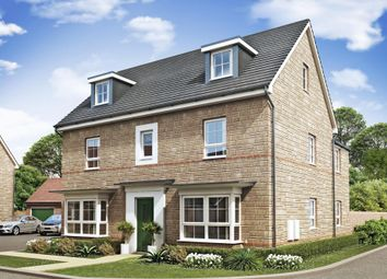 "Thumbnail 5 bedroom detached house for sale in ""Marlowe"" at Marsh Lane, Leonard Stanley, Stonehouse"