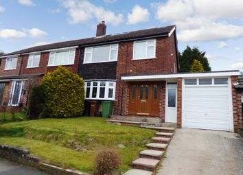 Thumbnail 4 bed semi-detached house for sale in Bowfell Drive, High Lane, Stockport