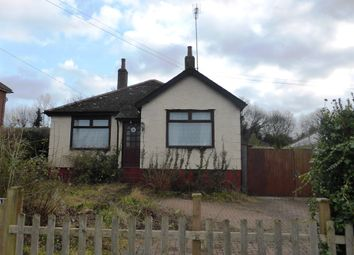 Thumbnail 3 bed detached bungalow for sale in Moorland Road, Shepherdswell. Dover, Kent