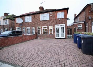 Thumbnail 4 bed semi-detached house for sale in Runnymead Gardens, Western Avenue, Greenford