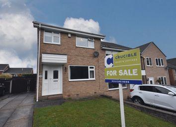 3 bed semi-detached house for sale in Sherburn Gate, Chapeltown, Sheffield S35