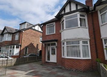 Thumbnail 3 bed semi-detached house for sale in St Werburghs Road, Chorlton, Manchester, Greater Manchester
