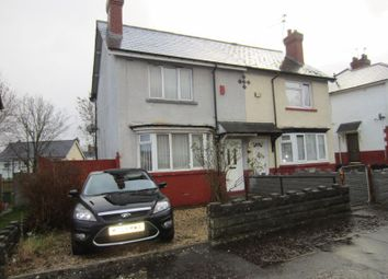 Thumbnail 2 bedroom semi-detached house for sale in Vachell Road, Ely, Cardiff