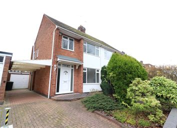 3 bed semi-detached house for sale in Knoll Drive, Coventry, West Midlands CV3