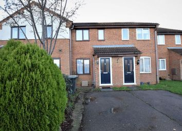 Thumbnail 2 bed terraced house to rent in Arundel Road, Marston Moretaine, Bedford