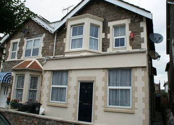 Thumbnail 1 bed flat to rent in Clevedon Road, Weston-Super-Mare