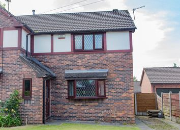 Thumbnail 2 bed semi-detached house for sale in Birch Road, Worsley, Manchester