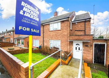 Thumbnail 2 bed end terrace house for sale in King George Road, Chatham, Kent