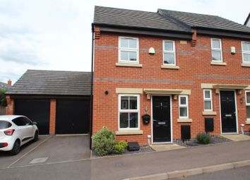Thumbnail 2 bed semi-detached house for sale in Burtons Road, Rothley, Leicester