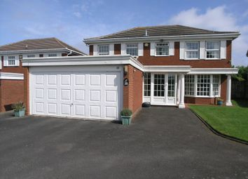 Thumbnail 5 bedroom detached house for sale in Carisbrooke Drive, Halesowen