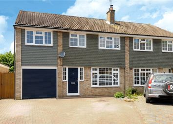 Thumbnail 4 bed semi-detached house for sale in Hag Hill Rise, Taplow, Maidenhead
