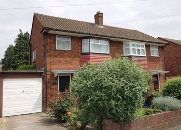 Thumbnail 3 bed semi-detached house for sale in Conway Road, Hanworth