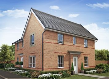 "Thumbnail 3 bed detached house for sale in ""Moresby"" at Woodcock Square, Mickleover, Derby"