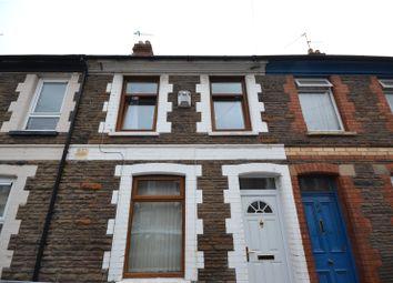 Thumbnail 3 bed terraced house for sale in Treharris Street, Roath, Cardiff