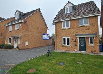 Thumbnail 4 bed detached house for sale in Ferryside, Thelwall, Warrington