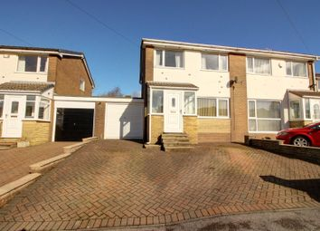 Thumbnail 3 bed semi-detached house for sale in Dobbin Close, Higher Cloughfold, Rawtenstall, Rossendale