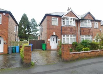 Thumbnail 3 bedroom semi-detached house for sale in Kingsbrook Road, Manchester, Lancashire