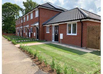 2 bed terraced house for sale in Little John Road, Norwich NR4
