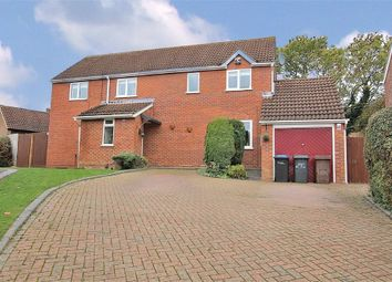 Thumbnail 3 bedroom detached house for sale in Icknield Drive, West Hunsbury, Northampton