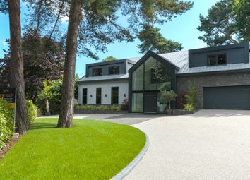 Thumbnail 4 bed detached house for sale in Links Road, Poole