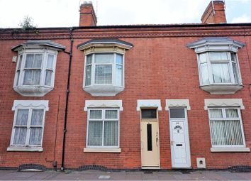 Thumbnail 2 bed terraced house for sale in Loughborough Road, Leicester