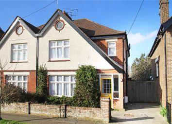 Thumbnail 3 bed semi-detached house for sale in Seaton Road, Wick, Littlehampton