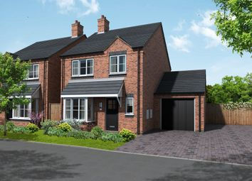 Thumbnail 3 bed detached house for sale in Coton Road, Rosliston, Swadlincote