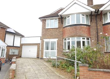 Thumbnail 4 bed semi-detached house for sale in Durston Close, Evington, Leicester