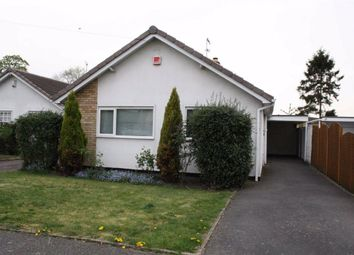 Thumbnail 2 bed detached bungalow for sale in Torcross Close, Glenfield, Leicester