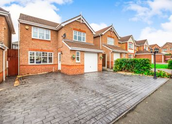 Thumbnail 4 bed detached house for sale in Carnegie Drive, Wednesbury