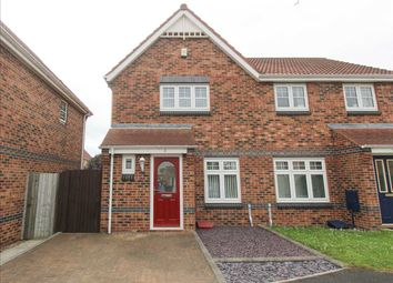 Thumbnail 2 bed semi-detached house for sale in Aydon Gardens, Longbenton, Newcastle Upon Tyne