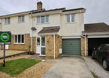 Thumbnail 3 bed semi-detached house for sale in Carne View Road, Probus