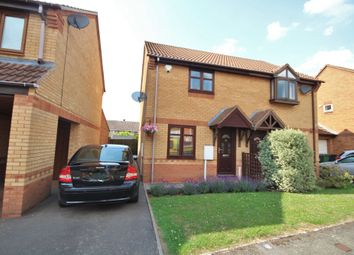Thumbnail 2 bed semi-detached house for sale in Bronze Close, Nuneaton