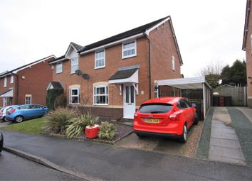 Thumbnail 3 bed semi-detached house for sale in Stinson Way, Whitwick, Coalville