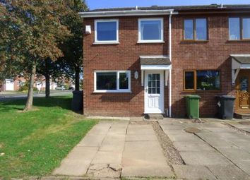 Thumbnail End terrace house for sale in Swift, Tamworth, Staffordshire