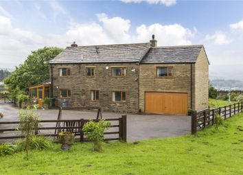 Thumbnail 4 bed detached house for sale in Bell Horse Farm, Lees Moor, Keighley, West Yorkshire